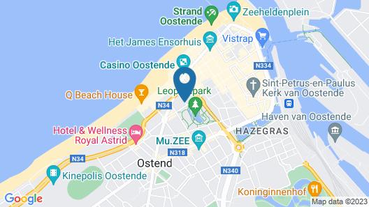 Hotel De Hofkamers Map