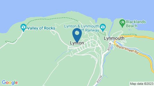 Exmoor Manor Hotel Map