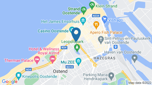 City Partner Hotel Ter Streep Map