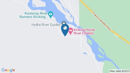 Chancellor Peak Chalets Map
