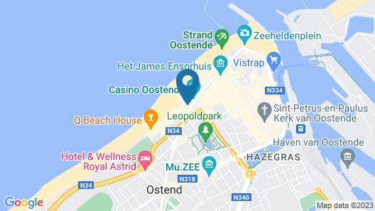 Andromeda Hotel Map