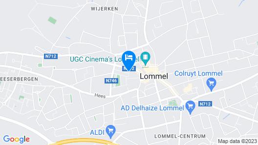 Corbie Lommel Map