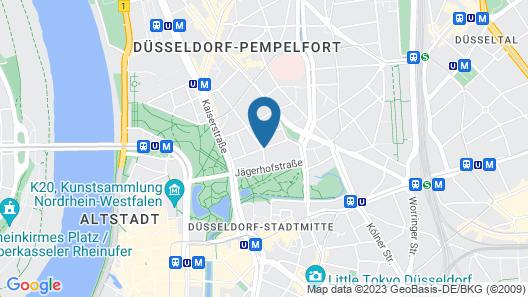 Hotel Berial Map