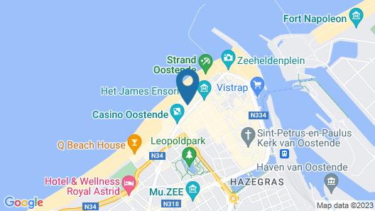 Upstairs Hotel Map