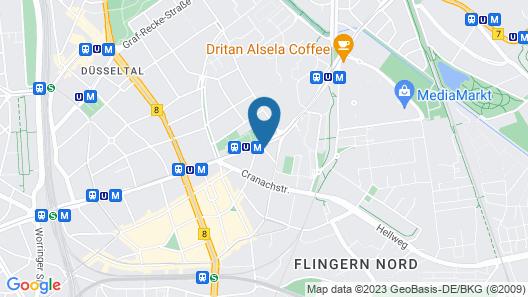 OYO Hotel Enger Hof Map