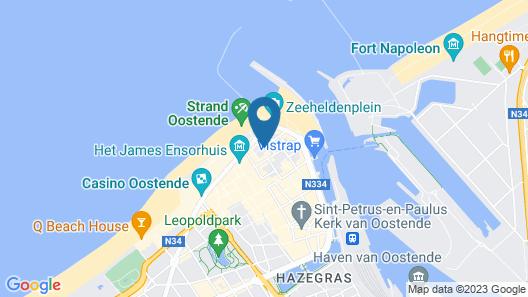 Hotel Bero Map