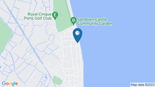 Seaside Holiday Home in Deal Near Hiking, Nightlife, Squash Club Map