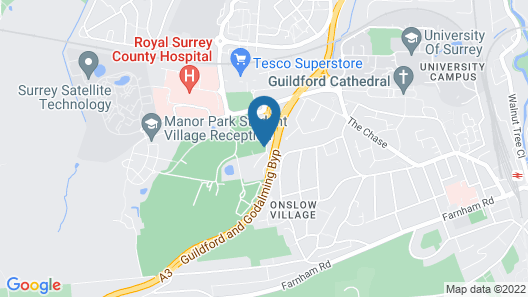 Holiday Inn Guildford Map