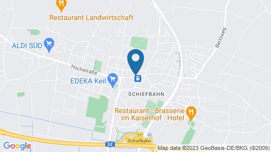 Hotel Garni Zentral Map