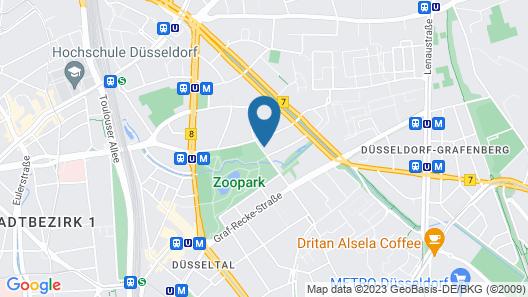 Apartment Mathildenstrasse Map