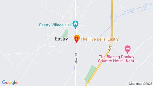 The Five Bells Map