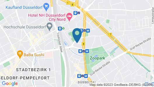 Apartment Harless Strasse Map