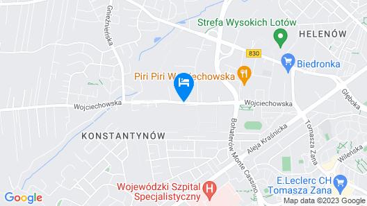 BEST Hotel Agit Congress & Spa Map