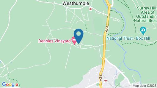 Denbies Vineyard Hotel Map