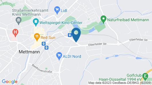 Hotel Alte Fabrik Map