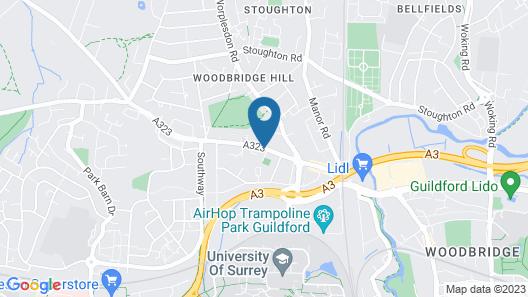 Holroyd Arms Map
