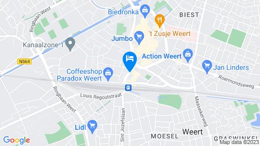 Fletcher Hotel-Restaurant Weert Map
