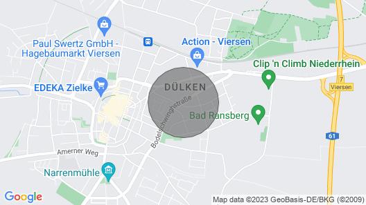 Great 3 Bedroom Apartment - Narrenstadt Dülken for Max. 5 People Map