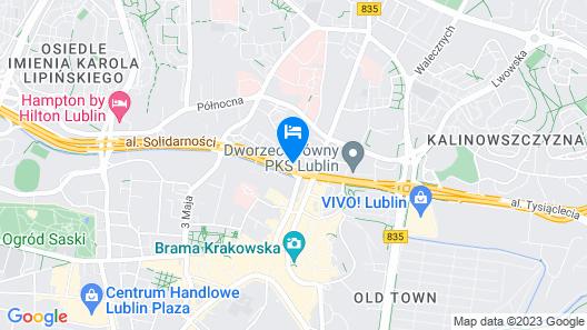 ibis Styles Lublin Stare Miasto Map