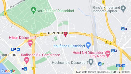 INNSiDE by Melia Düsseldorf Derendorf Map