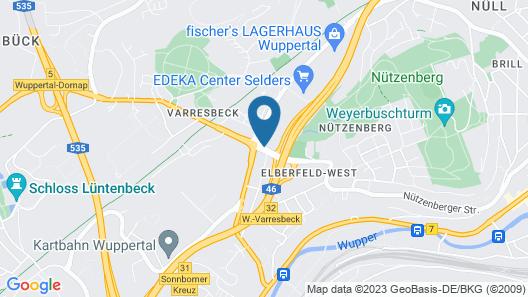 TRYP by Wyndham Wuppertal Map