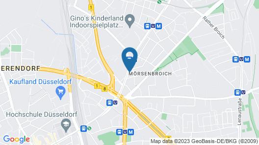 Apartment Muensterstrasse Map