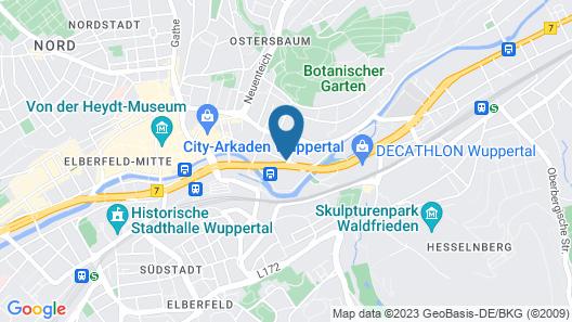 ibis Wuppertal City Map