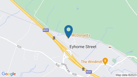 Days Inn by Wyndham Maidstone Map