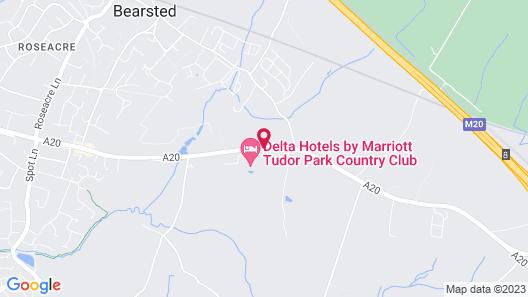 Tudor Park Marriott Hotel & Country Club Map