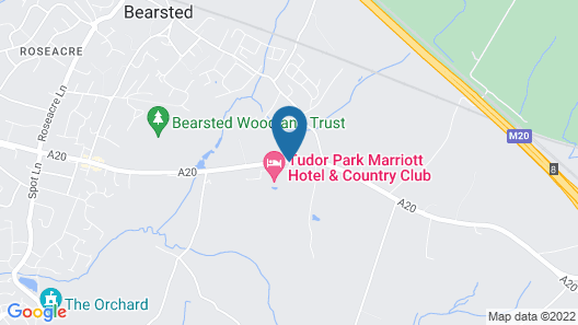Tudor Park Marriott Hotel & Country Club Map