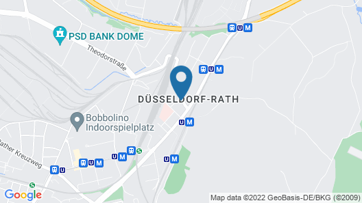 Liliencronstrasse Map