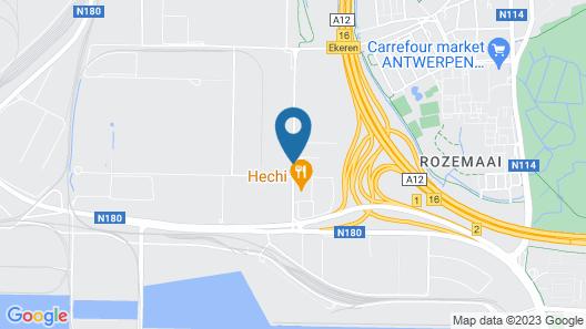 ibis budget Antwerpen Port Map