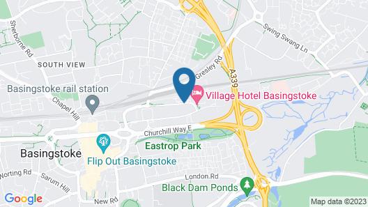 Village Hotel Basingstoke Map