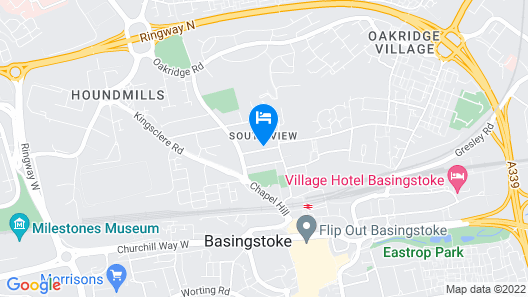 2 Bed Apartment in Basingstoke Map