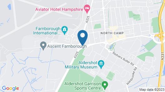 Holiday Inn Farnborough Map