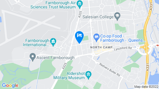 Colebrook Guest House Map