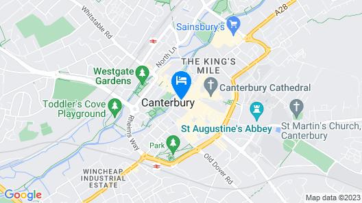 ABode Canterbury Map