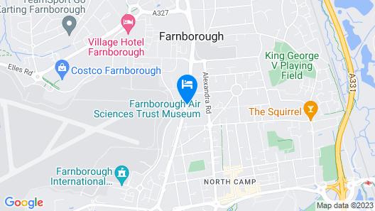 The Falcon Hotel Map