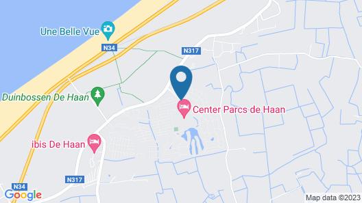 Center Parcs Park de Haan Map