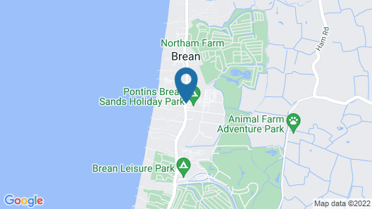 Brean Sands Holiday Park Map