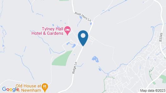Tylney Hall Map