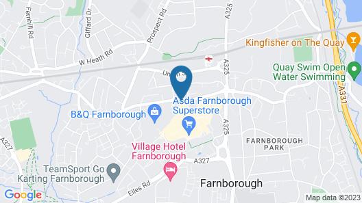 The Alexandra Pub Map