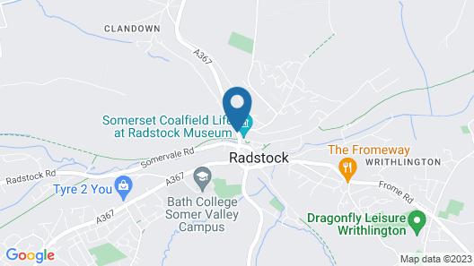 Radstock Hotel near Bath Map