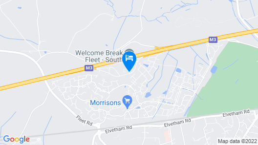 Days Inn by Wyndham Fleet M3 Map