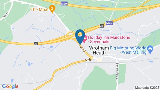 Holiday Inn Maidstone-Sevenoaks Map