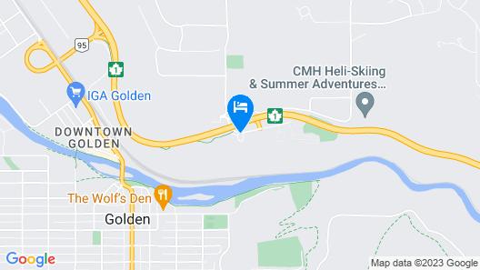 Days Inn by Wyndham Golden Map