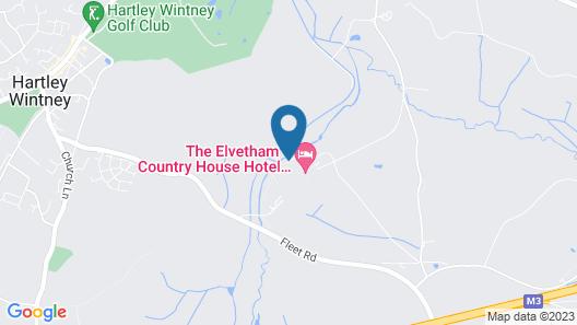 The Elvetham Hotel Map