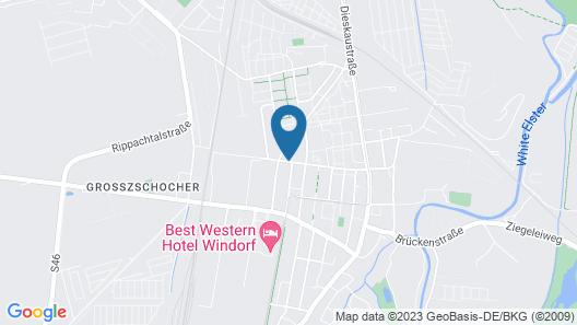Novum Apartment Hotel am Ratsholz Leipzig Map