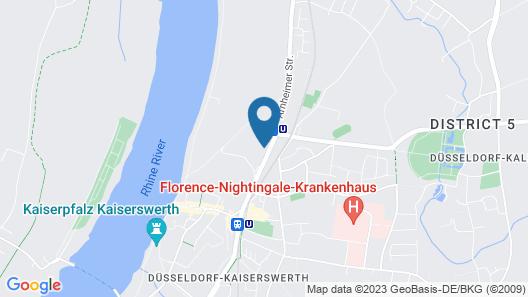 Hotel Villa Falkenberg Map