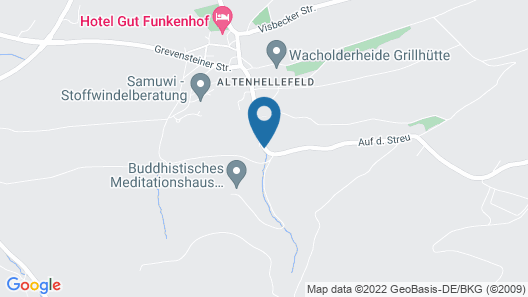 Gut Funkenhof Map